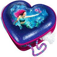 Ravensburger 3D 112494 Srdce Mořské víly 54 dílků - Puzzle