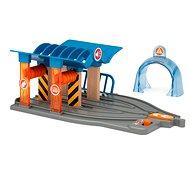 Brio World 33975 SMART TECH SOUND Myčka s dílnou  - Příslušenství k vláčkodráze