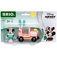 Brio World 32288 Disney and Friends Lokomotiva Myšky Minnie  - Vláček