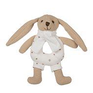 Canpol babies Zajíček Bunny s chrastítkem béžový  - Plyšák