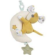 Canpol babies Hebký mazlíček s hrací skříňkou Mouse - Plyšák