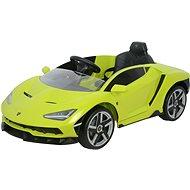 Lamborghini zelené - Dětské elektrické auto