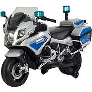 BMW R1200 RT-P stříbrná - Dětská elektrická motorka