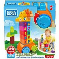 Mega Bloks Kostsky s čísly