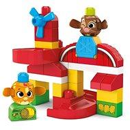 Mega Bloks Peek A Bloks Zvířecí farma