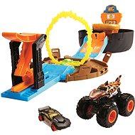 Hot Wheels Monster Trucks Kaskadérské kousky - Auto