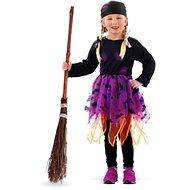 Dětský Kostým Čarodějnice 6-8 let - Halloween - vel.M - (116 - 134 cm)