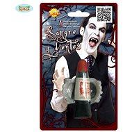 Upíří Zuby s Umělou Krví 15 ml - Upír - Vampír - Drakula - Halloween - Doplněk ke kostýmu