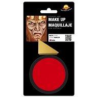 Červený Make-Up s Houbou - Halloween - 9 g - Party doplňky