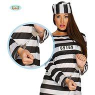 Kovové Pouta - Želízka - Vězeň - Zločinec - Trestanec - Doplněk ke kostýmu