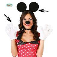 Dětská - Dospělá Sada Myška - Unisex - Kostým
