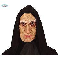 Maska Stará Žená s Šátkem - Halloween - 20 x 15 x 44 cm - Doplněk ke kostýmu