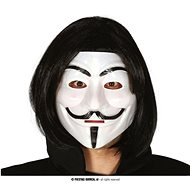 Plastic Mask Anonymous - Vendetta - Halloween - Costume Accessory