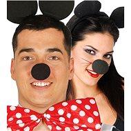 Černý Pěnový Nos - Mickey Mouse - 5 cm - Doplněk ke kostýmu