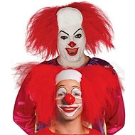 Paruka Klaun - Pleš s Vlasy - Halloween - Doplněk ke kostýmu