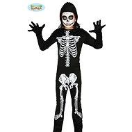 Dětský Kostým Kostra - Kostlivec - vel.10-12 let - Halloween - Dětský kostým
