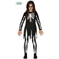 Dětský Kostým Kostra - Kostlivec  vel.7-9 let - Halloween - Dětský kostým