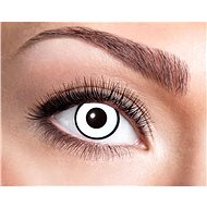 Contact Lenses - White with Black Stripe - Halloween - Costume Accessory