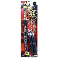 Sada Ninja - Samuraj - Zbraně a Meč - 5 ks                                                           - Party doplňky