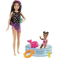 Barbie Chůva S bazénkem - Panenky