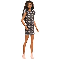 Barbie Modelka - Džínové šaty s myškami - Panenky