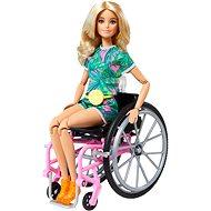 Barbie Modelka Na invalidním vozíku - blondýnka - Panenky
