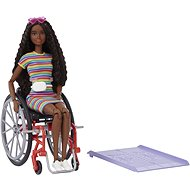 Barbie Modelka Na invalidním vozíku - černoška - Panenky