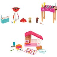 Barbie Mini Herní set s mazlíčkem - Panenky
