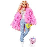 Barbie Extra - V růžové bundě - Panenky