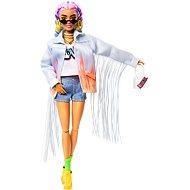 Barbie Extra - V džínové bundě s třásněmi - Panenky