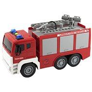 Auto hasiči stříkací vodu - Auto