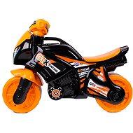 Odrážedlo motorka oranžovo-černá  - Odrážedlo