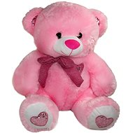 Medvěd Nosík Růžový - 40 cm - Plyšový medvěd