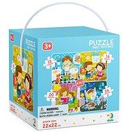 Puzzle 4v1 Můj den