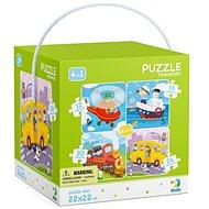 Puzzle 4v1 Transport