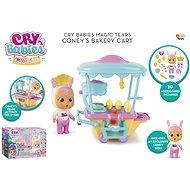 Cry Babies Magic Tears pekařský vozík Cony - Panenka