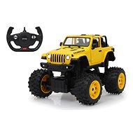 Jamara Jeep Wrangler JL 1:14 big wheel door manual yellow 2,4G A
