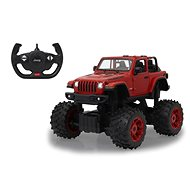 Jamara Jeep Wrangler JL 1:14 big wheel door manual červený 2,4G B  - RC auto na dálkové ovládání