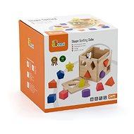 Dřevěná vkládačka kostka - Dřevěná hračka