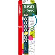STABILO EASYgraph L HB petrolejová, 2ks Blistr - Grafitová tužka