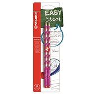 STABILO EASYgraph S  R HB růžová, 2ks Blistr - Grafitová tužka