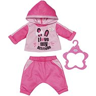 BABY born Teplákovka - růžová, 43 cm - Doplněk pro panenky