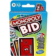 Karetní hra Monopoly Bid CZ SK - Karetní hra
