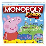 Desková hra Monopoly Junior Prasátko Peppa CZ SK