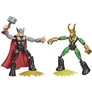 Avengers Bend and Flex Thor VS Loki - Figurka
