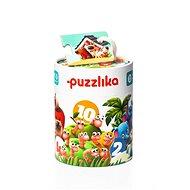 Puzzlika 13005 Přátelé - naučné puzzle 20 dílků - Skládačka
