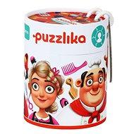 Puzzlika 13524 Profese 2 - naučné puzzle 21 dílků - Skládačka