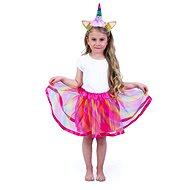 Rappa tutu sukně s čelenkou jednorožec - Dětský kostým