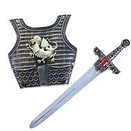 Rappa rytířský meč se zvukem a štítem - Doplněk ke kostýmu