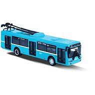 Rappa kovový trolejbus DPO Ostrava modrý 16 cm